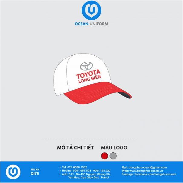 Đồng phục mũ DL75