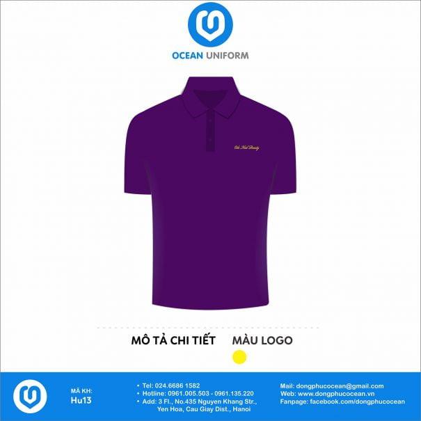 Áo đồng phục nhân viên nhà hàng Odo Nails