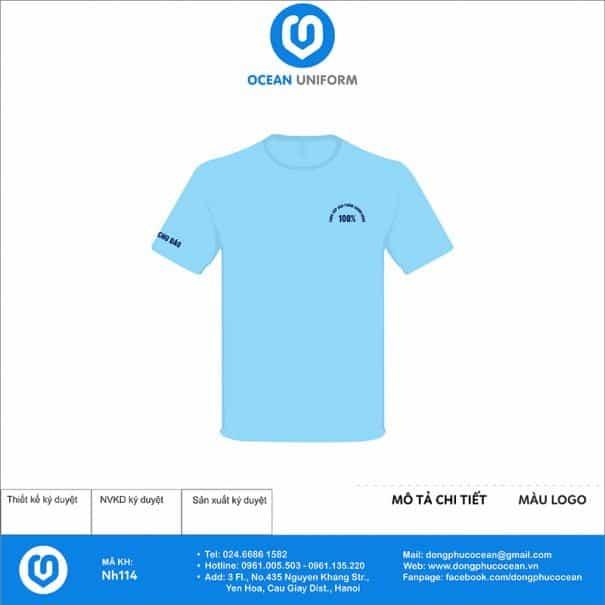 Áo đồng phục Công ty Điện Tử - Điện Lạnh Bính Hường