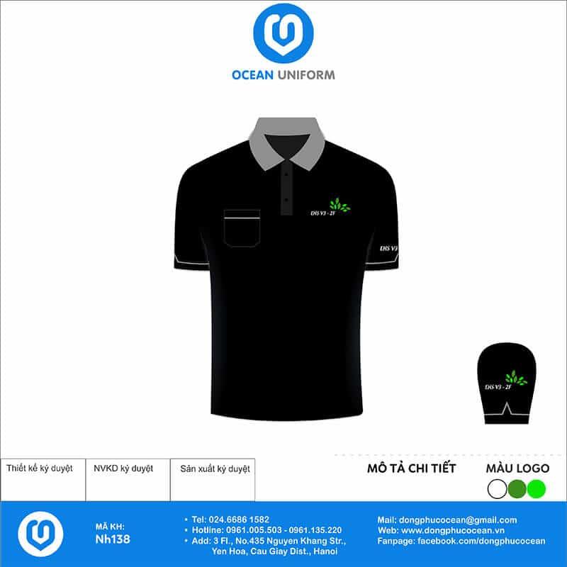 Áo đồng phục công ty - Ethanol Team mặt trước