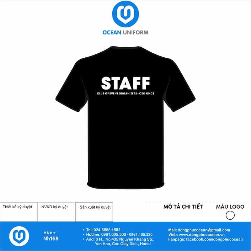Áo đồng phục công ty - CLB CEO mặt sau