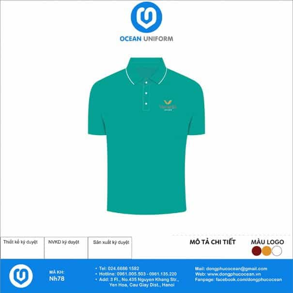 Áo đồng phục công ty Venezia