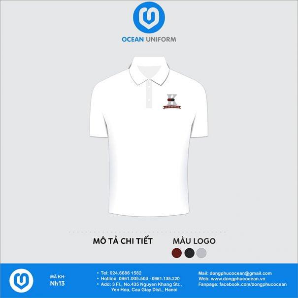Đồng phục nhân viên nhà hàng NH13