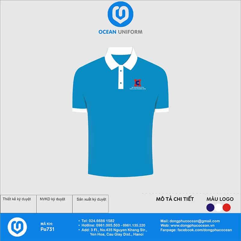Áo đồng phục công ty HC Việt Nam