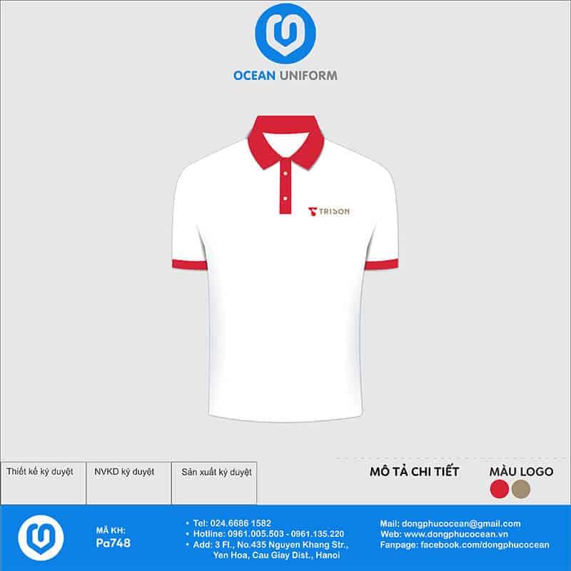 Áo đồng phục Công ty Tri Sơn