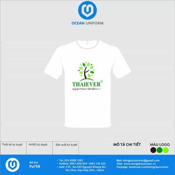 Áo đồng phục công ty Thaiever