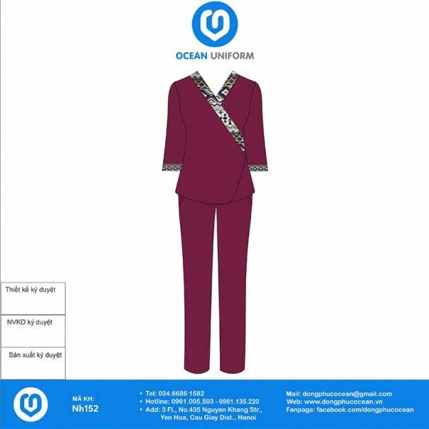 Đồng phục Spa NH152