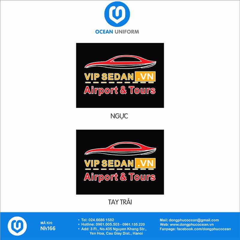 Họa tiết Áo thun đồng phục công ty Vip Sedan