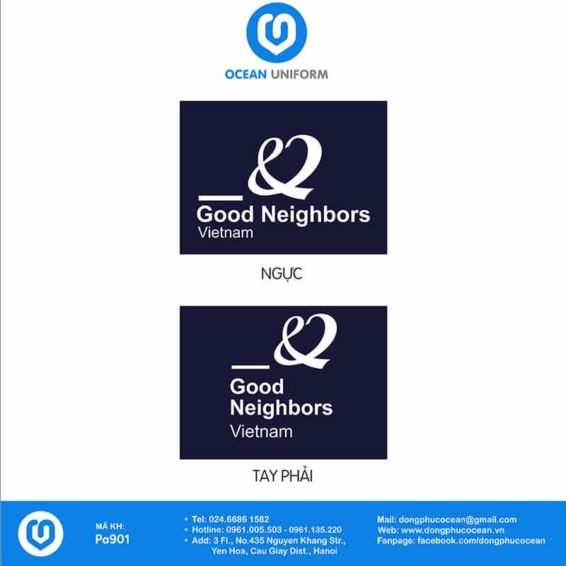 Họa tiết Áo thun công sở Good Neighbors Việt Nam