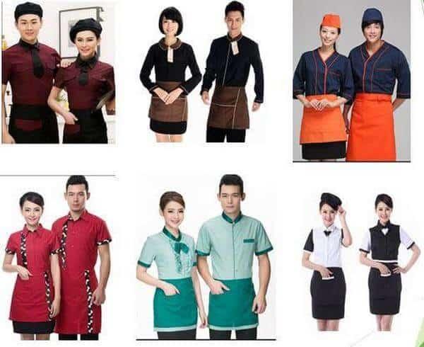 Mẫu đồng phục nhân viên nhà hàng Âu 3