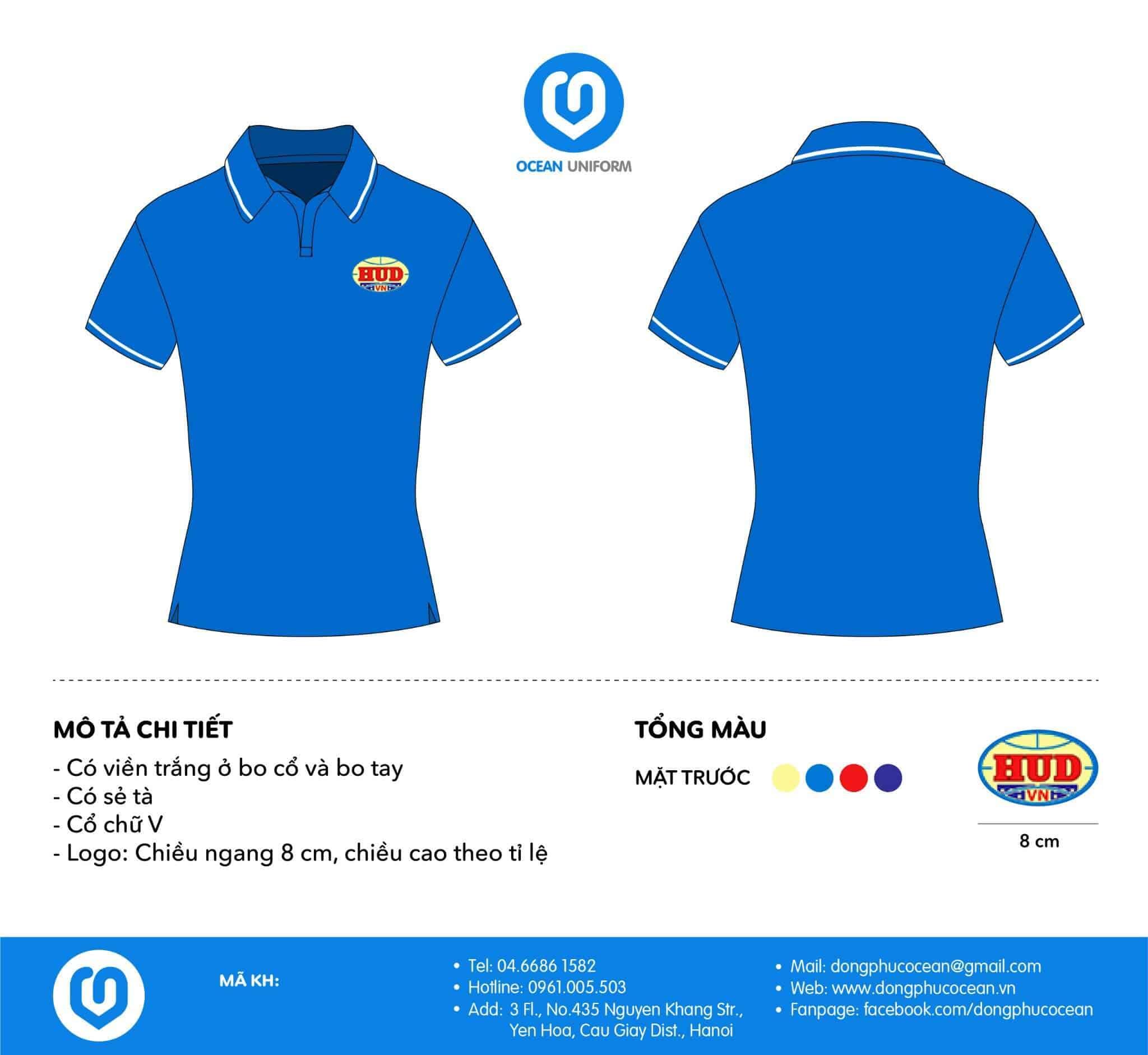 Mẫu áo phông đồng phục công ty