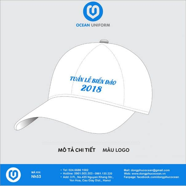 Mũ đồng phục NH53