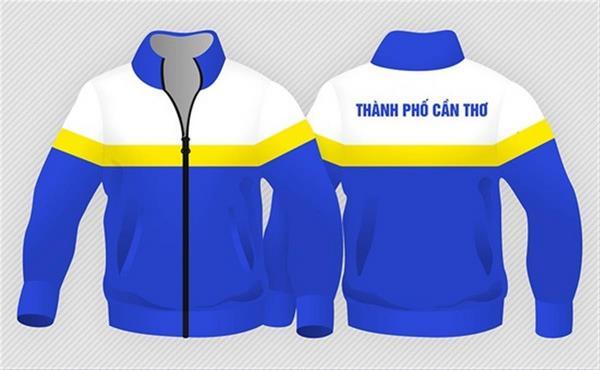 may áo khoác đồng phục 1