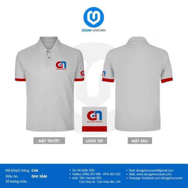 thiết kế áo đồng phục 1