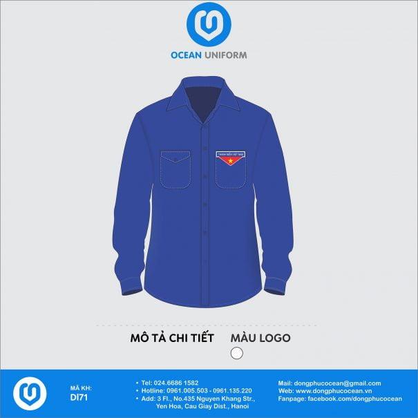 Trang phục áo đoàn DL71