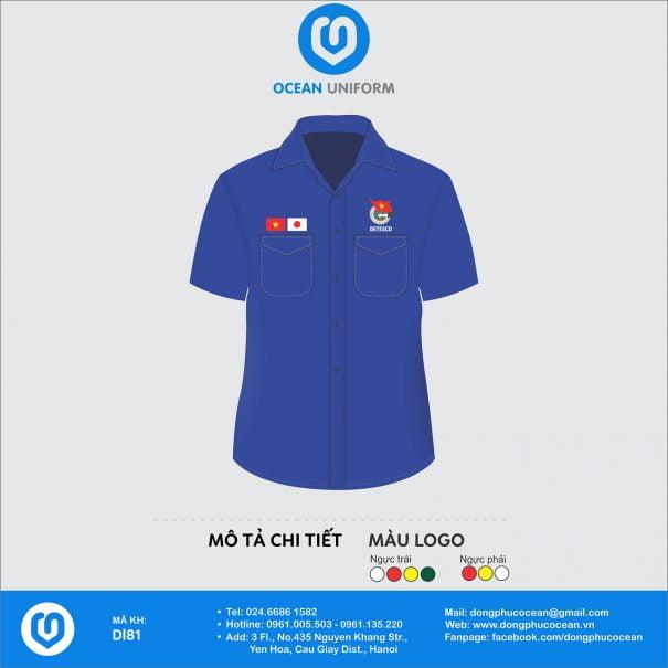 Trang phục áo đoàn DL81