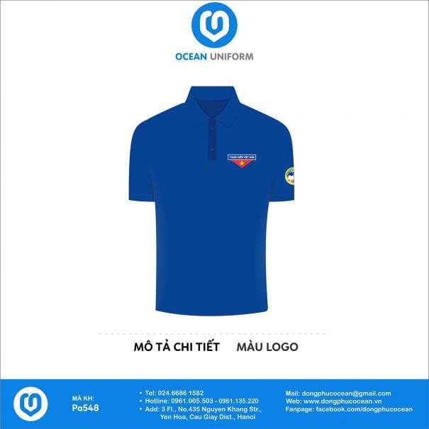 Trang phục áo đoàn PA548