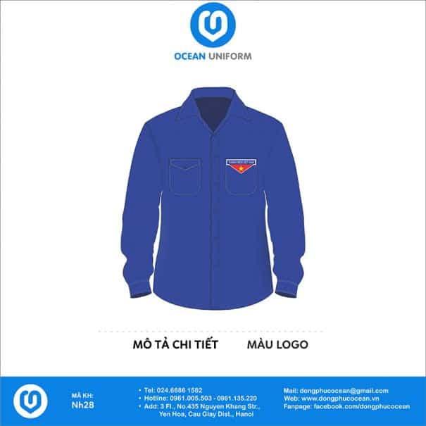 Trang phục áo đoàn NH28
