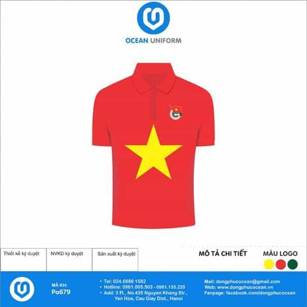 Trang phục áo đoàn PA679