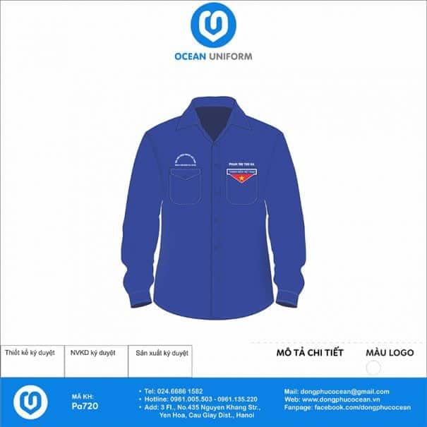 Trang phục áo đoàn PA720
