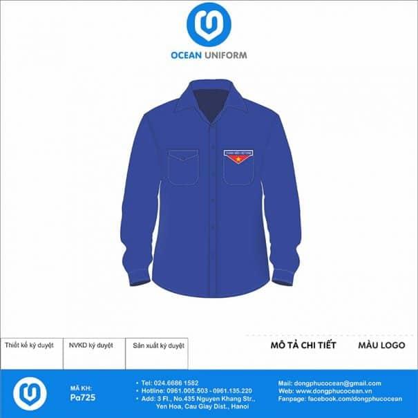 Trang phục áo đoàn PA725
