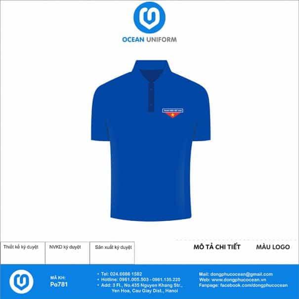 Trang phục áo đoàn PA781