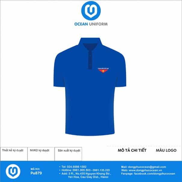 Trang phục áo đoàn PA879