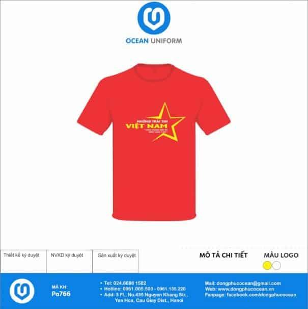 Áo cờ đỏ sao vàng Tổ 4 K68B05