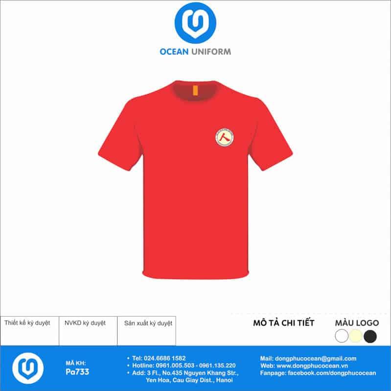 Áo thun đồng phục câu lạc bộ Võ Thuật Nam Giang