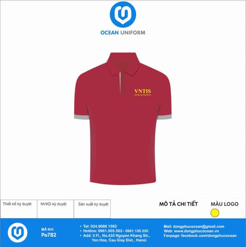 Đồng phục nhân viên VNTIS Việt Nam