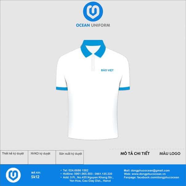 Áo phông đồng phục sự kiện Bảo hiểm Bảo Việt