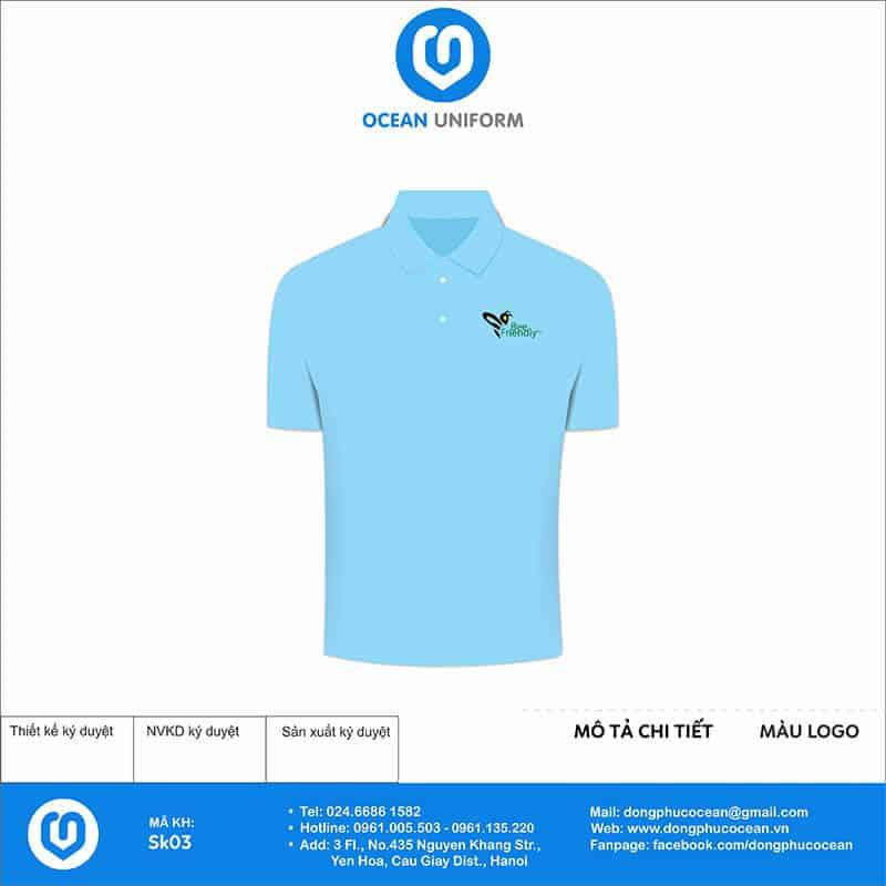 Áo phông đồng phục sự kiện Bee Friendly