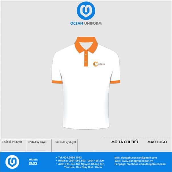 Áo phông đồng phục sự kiện CCevents.vn