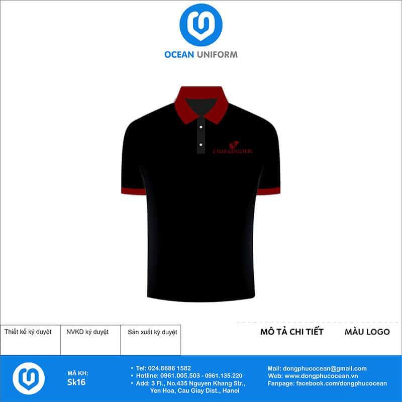 Áo phông đồng phục sự kiện Charmington