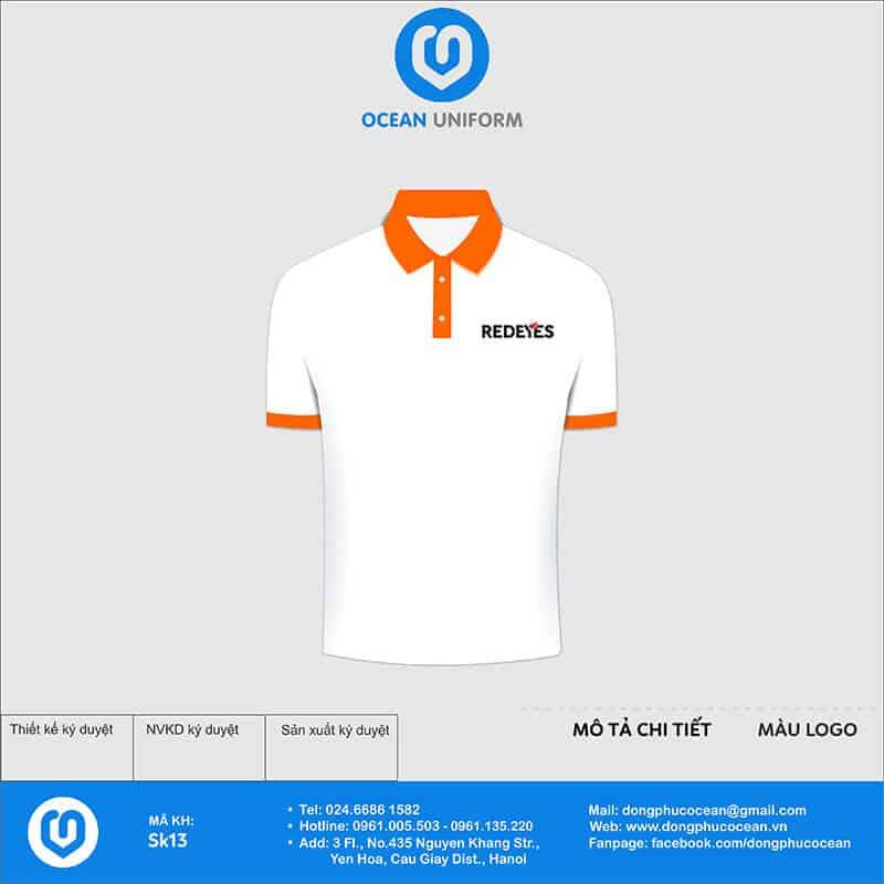 Áo phông đồng phục sự kiện công ty Redeyes