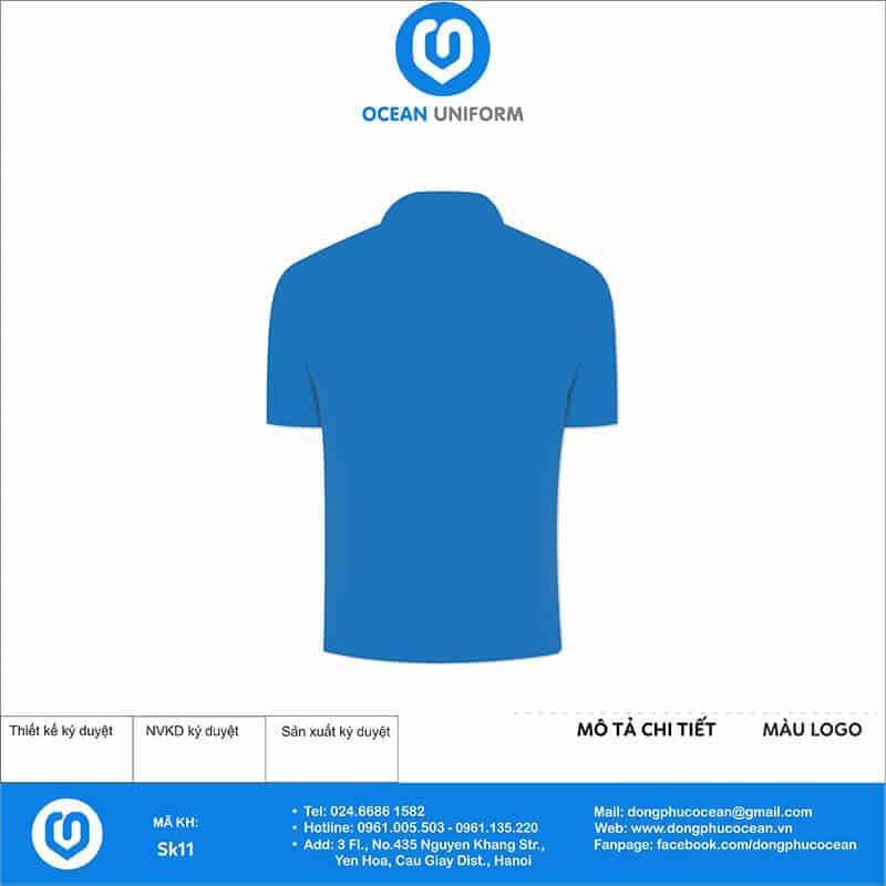 Áo phông đồng phục sự kiện Share Event mặt sau