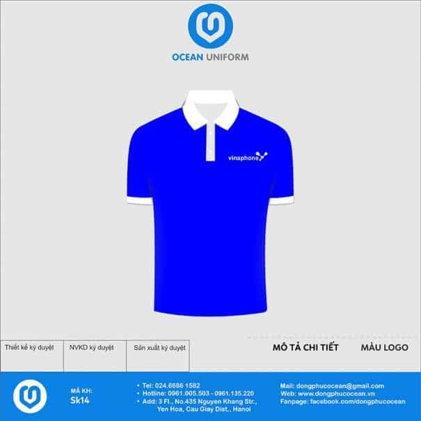 Áo phông đồng phục sự kiện tập đoàn Vinaphone