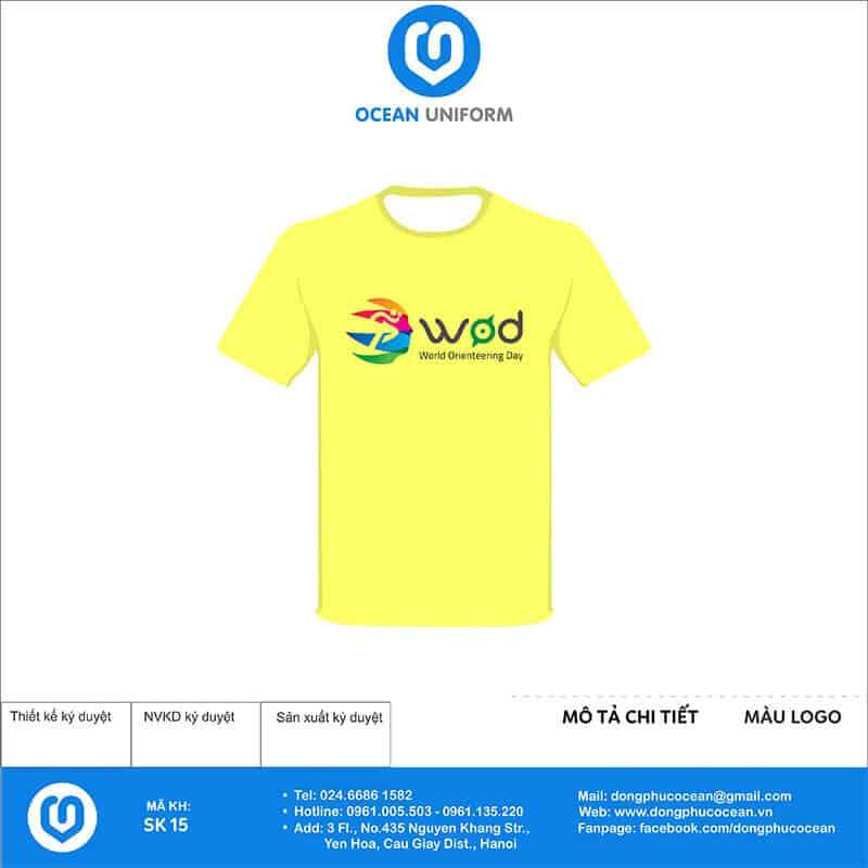 Áo phông đồng phục sự kiện World orienteering day