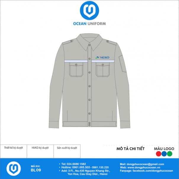 Đồng phục công nhân Công ty Điện tử Meiko