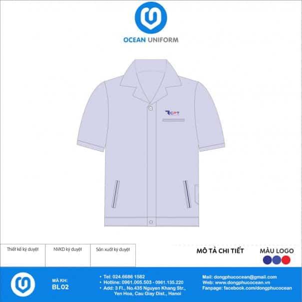Đồng phục công nhân Công ty xây dựng CPT Việt Nam