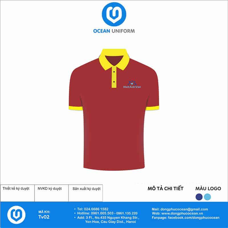 Đồng phục nhân viên du lịch Hình Ảnh Việt