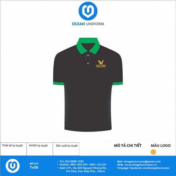 Áo đồng phục nhân viên du lịch Lửa Việt