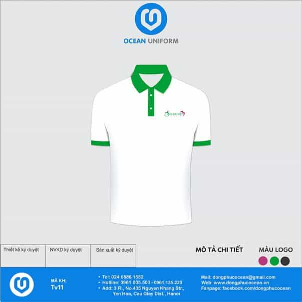 Đồng phục nhân viên du lịch Sen Đại Việt