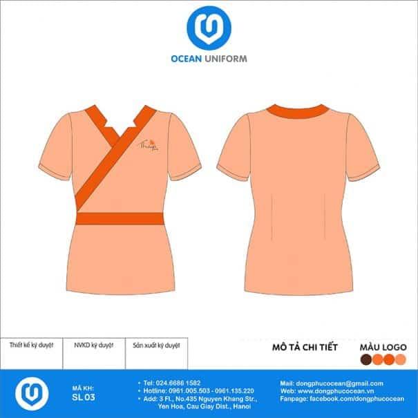 Đồng phục Spa Thaya