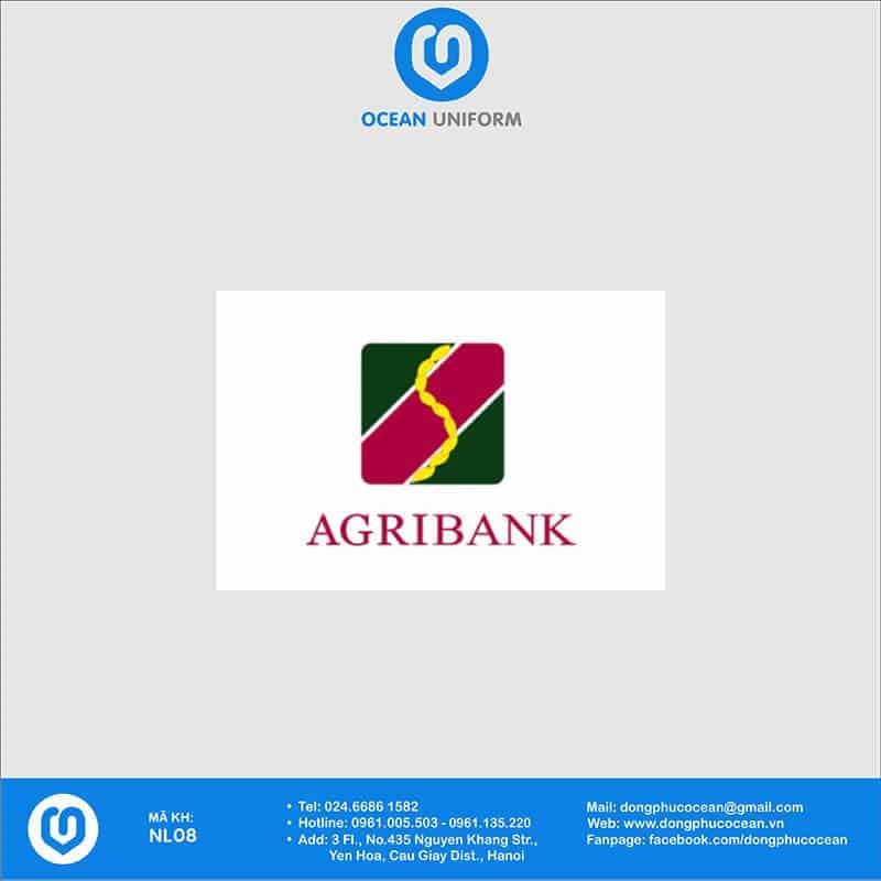 Họa tiết Áo thun đồng phục Ngân hàng Agribank