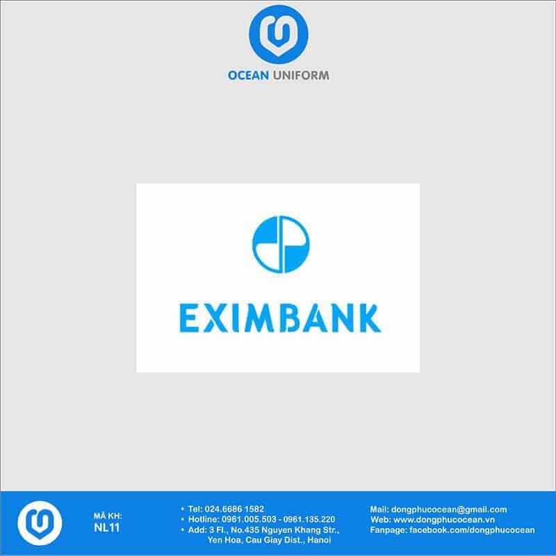 Họa tiết Áo thun đồng phục Ngân hàng EximBank