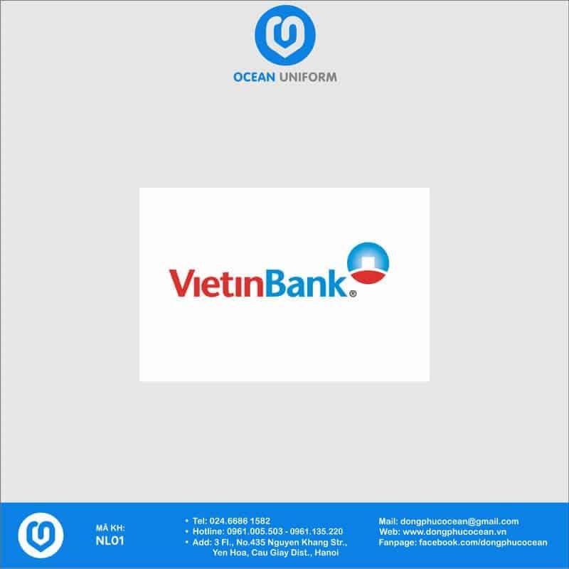 Họa tiết Áo thun đồng phục Ngân hàng VietinBank