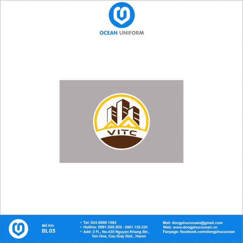Họa tiết Đồng phục công nhân Công ty Xây dựng Công nghệ cao Việt Nam