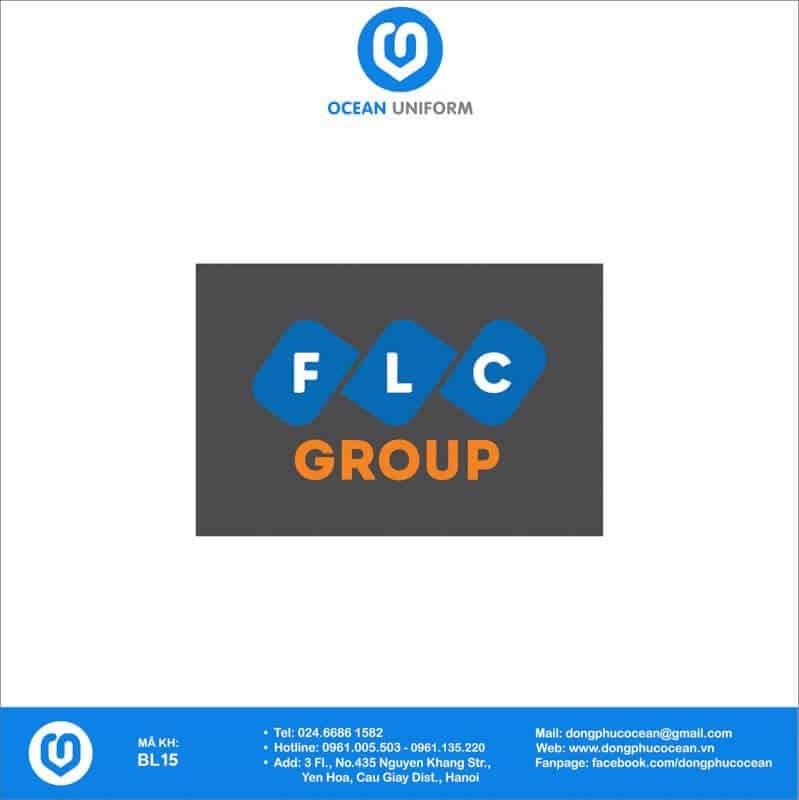 Họa tiết đồng phục công nhân Tập đoàn FLC Group