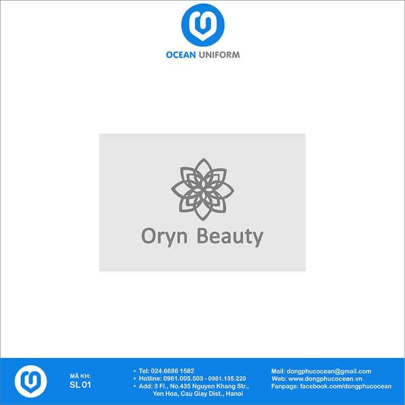 Họa tiết Đồng phục SPA Oryn Beauty